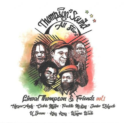Various - Thompson Sound All Stars: Linval Thompson & Friends Vol. 1 (Thompson Sound) LP